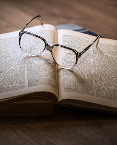 book study glasses